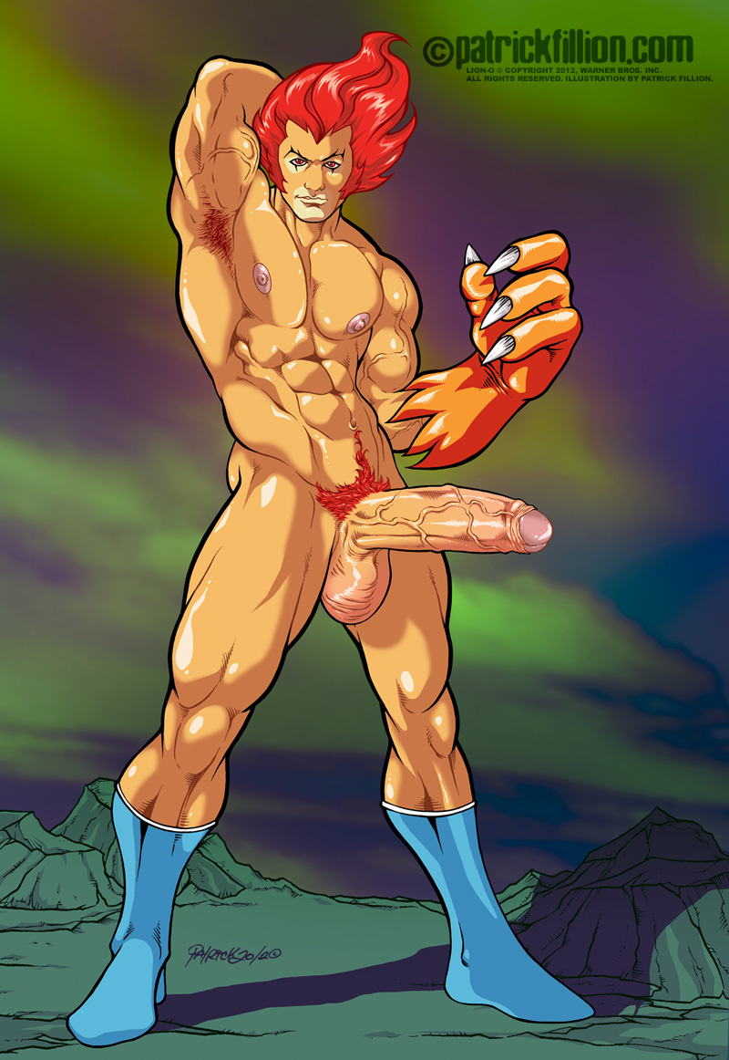 Lion O Of The Thundercats Nude Fan Art By Patrick Fillion